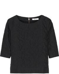 Julien david textured cotton top medium 63836