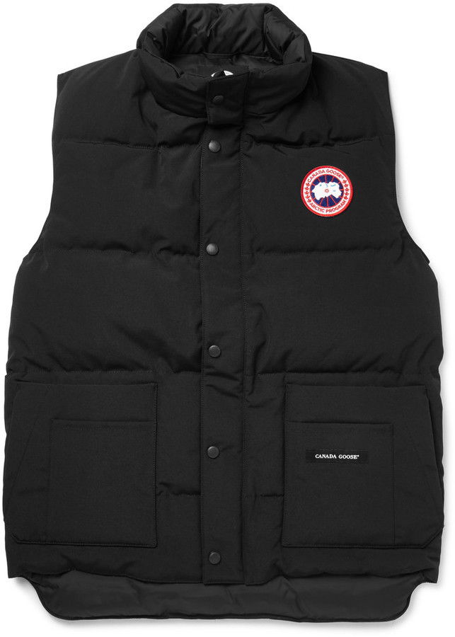 36ac06e8a782 ... sale canada goose canada goose freestyle quilted shell down gilet b6614  baf0e