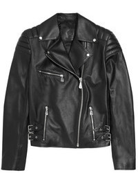 MCQ Alexander Ueen Quilted Leather Biker Jacket