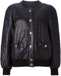 Vintage quilted bomber jacket medium 451748