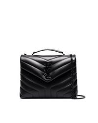 Saint Laurent Black Lou Lou Small Leather Bag