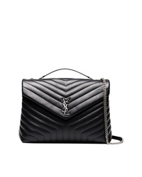 Saint Laurent Large Black Loulou Bag
