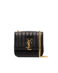 Saint Laurent Vicky Logo Plaque Bag