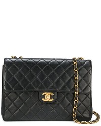 Chanel Vintage Jumbo Quilted Shoulder Bag