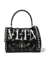 Valentino Garavani Candystud Printed Quilted Leather Shoulder Bag