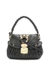 Miu Miu Matelass Braided Shoulder Bag