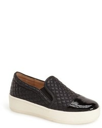 Jslides Junior Quilted Slip On Sneaker