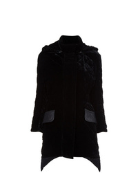 Fendi Quilted Velvet Coat