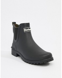 Barbour Chelsea Welly Boot With Logo Detail