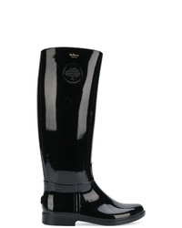 Mulberry Logo Wellington Boots