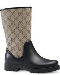 Gucci Toddler Girls Rainy Junior Rain Boot