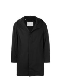 MACKINTOSH Black Cotton Storm System Hooded Coat
