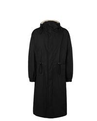 Bottega Veneta Oversized Reversible Cotton Faille Hooded Coat