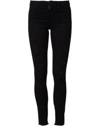 Frame Denim Ripped Skinny Jeans