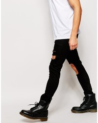 4bd2eb2f Asos Brand Super Skinny Jeans With Open Rips, £47 | Asos | Lookastic UK