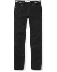 Cuban fit distressed denim jeans medium 578674
