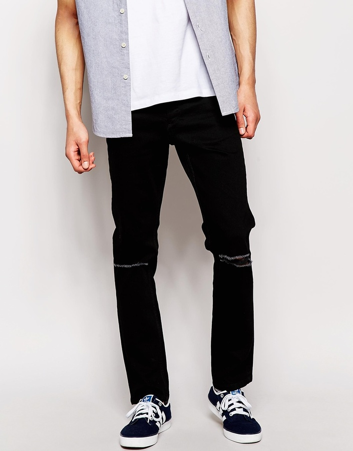 Schwarze hose jack and jones