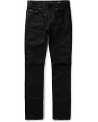 Skinny fit 17cm hem ripped denim jeans medium 702363