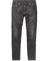 Slim fit distressed washed denim jeans medium 1160998