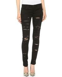 Denim ripped skinny jeans medium 165492