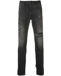 Marcelo Burlon County of Milan Distressed Skinny Jeans