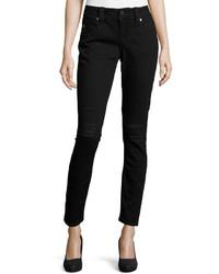 Miss Me Destroyed Skinny Jeans Black