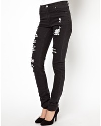 Cheap Monday Ripped Skinny Jeans