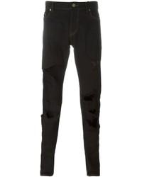 Saint Laurent Ripped Slim Fit Jeans
