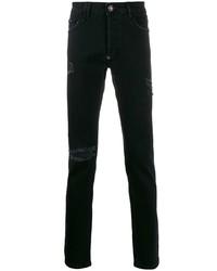 Philipp Plein Super Straight Cut Statet Jeans