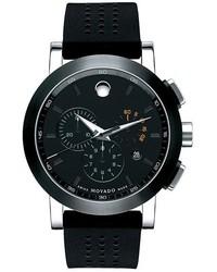 Black Rubber Watch
