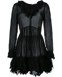 Givenchy Creased Ruffled Dress