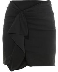 Isabel Marant Quena Ruffle Trimmed Mini Skirt