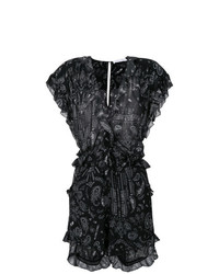 IRO Ruffled Bandana Playsuit