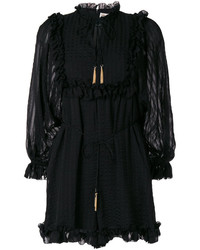Zimmermann Ruffled Hem Playsuit