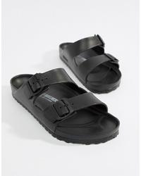 Birkenstock Arizona Eva Sandals In Black