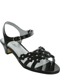 Jumping Jacks Girls Shimmer Quarter Strap Sandal