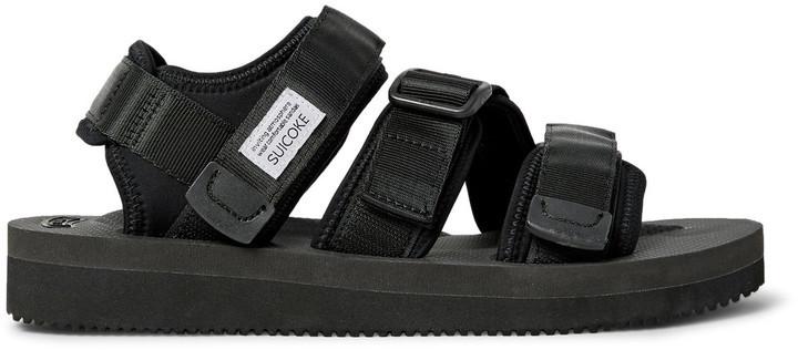 ... Suicoke Kisee V Webbing And Neoprene Sandals ...