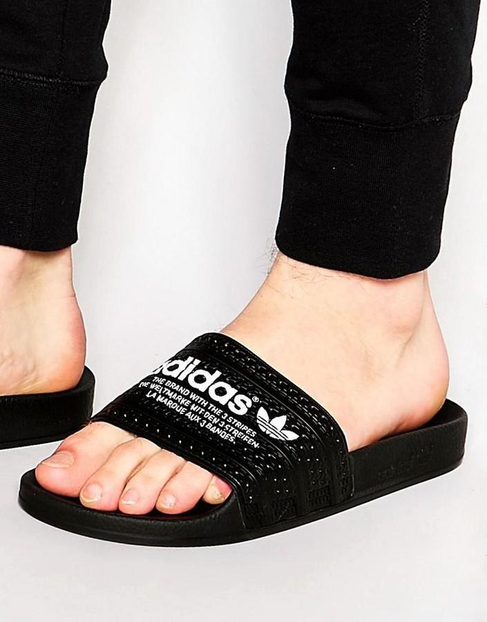 2361451353b27 ... Sandals adidas Originals Adilette Sliders S78689 ...