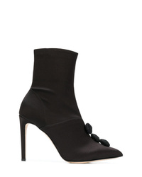 Chloe Gosselin Embellished Heeled Boots
