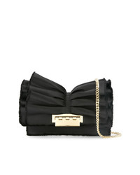 Zac Zac Posen Earthette Ruffle Clutch Bag