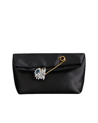 Burberry The Small Pin Clutch In Satin