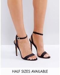 Hopeful jewelled buckle heeled sandals medium 3734713
