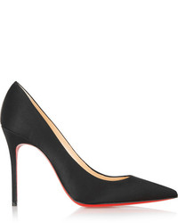 Christian Louboutin Dcollet 100 Satin Pumps