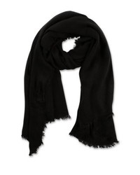 Scarf black medium 4138797