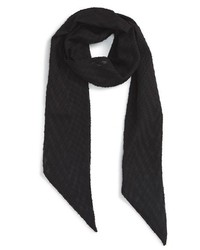 The Accessory Collective Textured Skinny Scarf