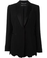 Angular sequin hem blazer medium 955615