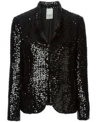 Vintage sequined blazer medium 136595