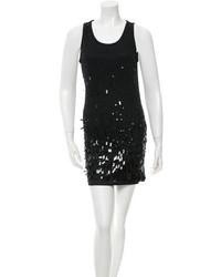Donna Karan Sleeveless Embellished Dress
