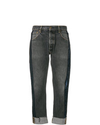 Kendall & Kylie Kendallkylie Sequin Stripe Cropped Jeans