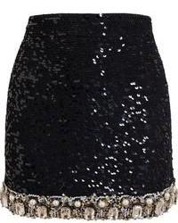 Embellished mini skirt medium 96541